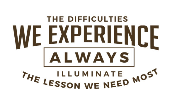 Download Free The Difficulties We Experience Graphic By Baraeiji Creative for Cricut Explore, Silhouette and other cutting machines.