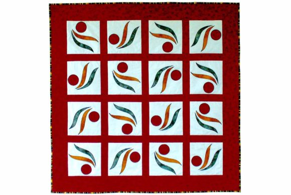 Whirligig Sudoku Quilt Block Pattern Graphic Quilt Patterns By dena.dale.crain