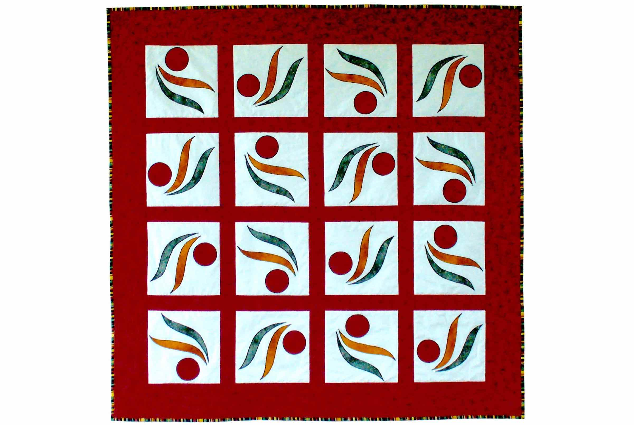 Download Free Whirligig Sudoku Quilt Block Pattern Graphic By Dena Dale Crain SVG Cut Files