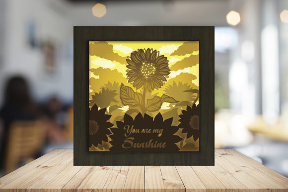 You Are My Sunshine Light Box Shadow Box Graphic Download