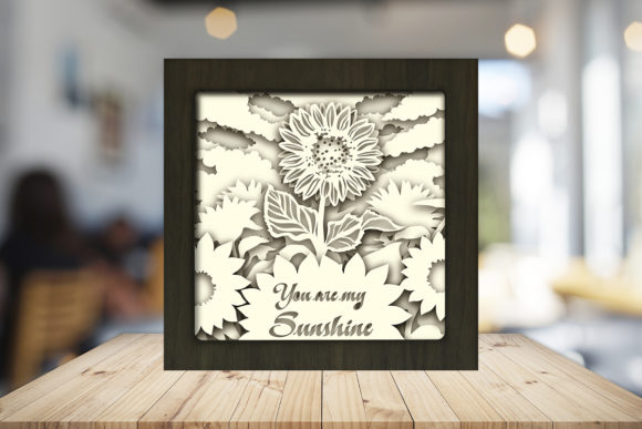 You Are My Sunshine Light Box Shadow Box Graphic Item