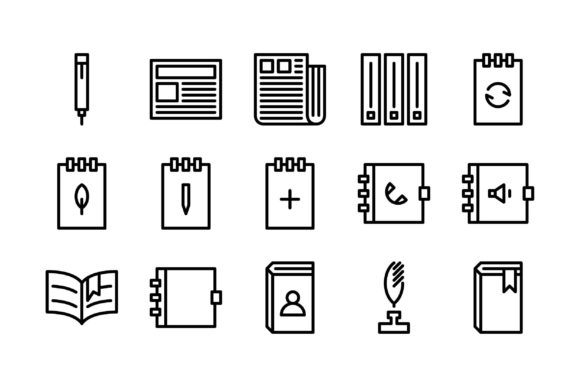 Download Free Business Black And White Line Icon Graphic By Glyph Faisalovers for Cricut Explore, Silhouette and other cutting machines.