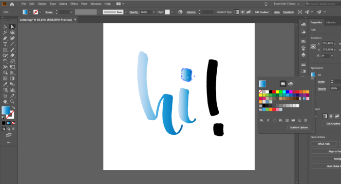 how to vectorize your drawings on Illustrator