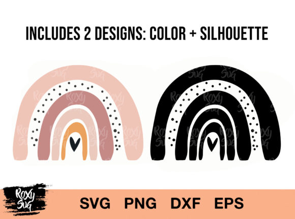 Download Free Rainbow Graphic By Roxysvg26 Creative Fabrica for Cricut Explore, Silhouette and other cutting machines.