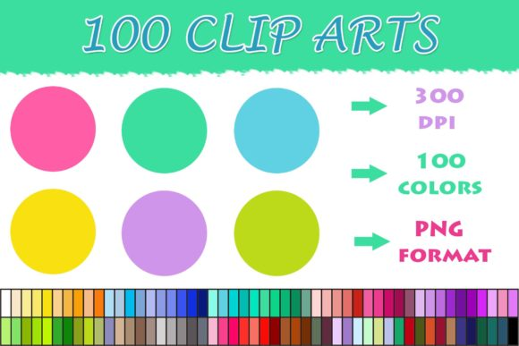 Download Free 100 Circle Clip Art Graphic By Sweetdesign Creative Fabrica for Cricut Explore, Silhouette and other cutting machines.
