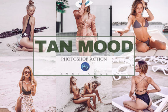 Download Free 9 Tan Mood Photoshop Actions Acr Lut Graphic By 3motional Creative Fabrica for Cricut Explore, Silhouette and other cutting machines.