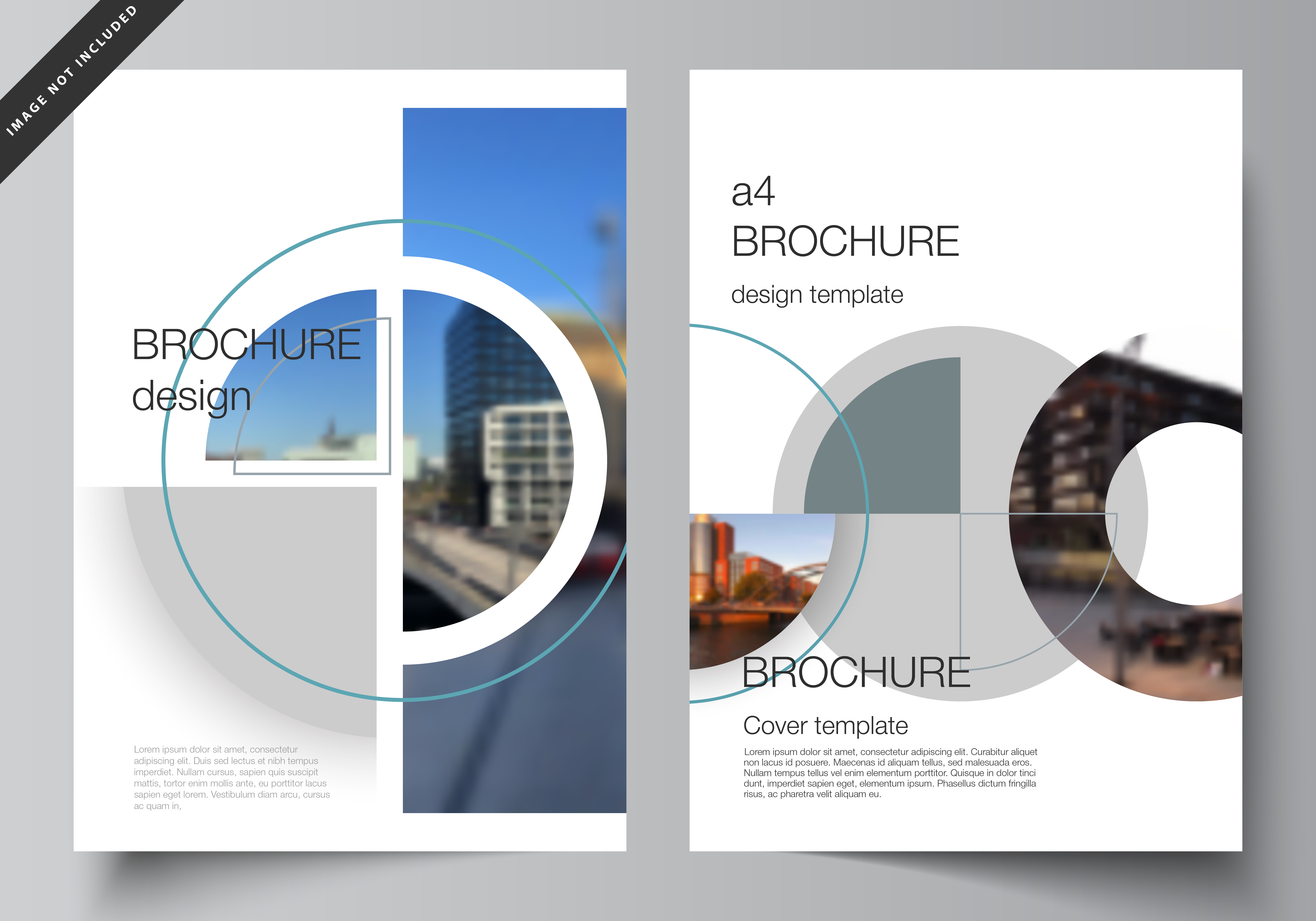 Download Free A4 Cover Mockups Design Templates V2 06 Graphic By Raevsky Lab for Cricut Explore, Silhouette and other cutting machines.