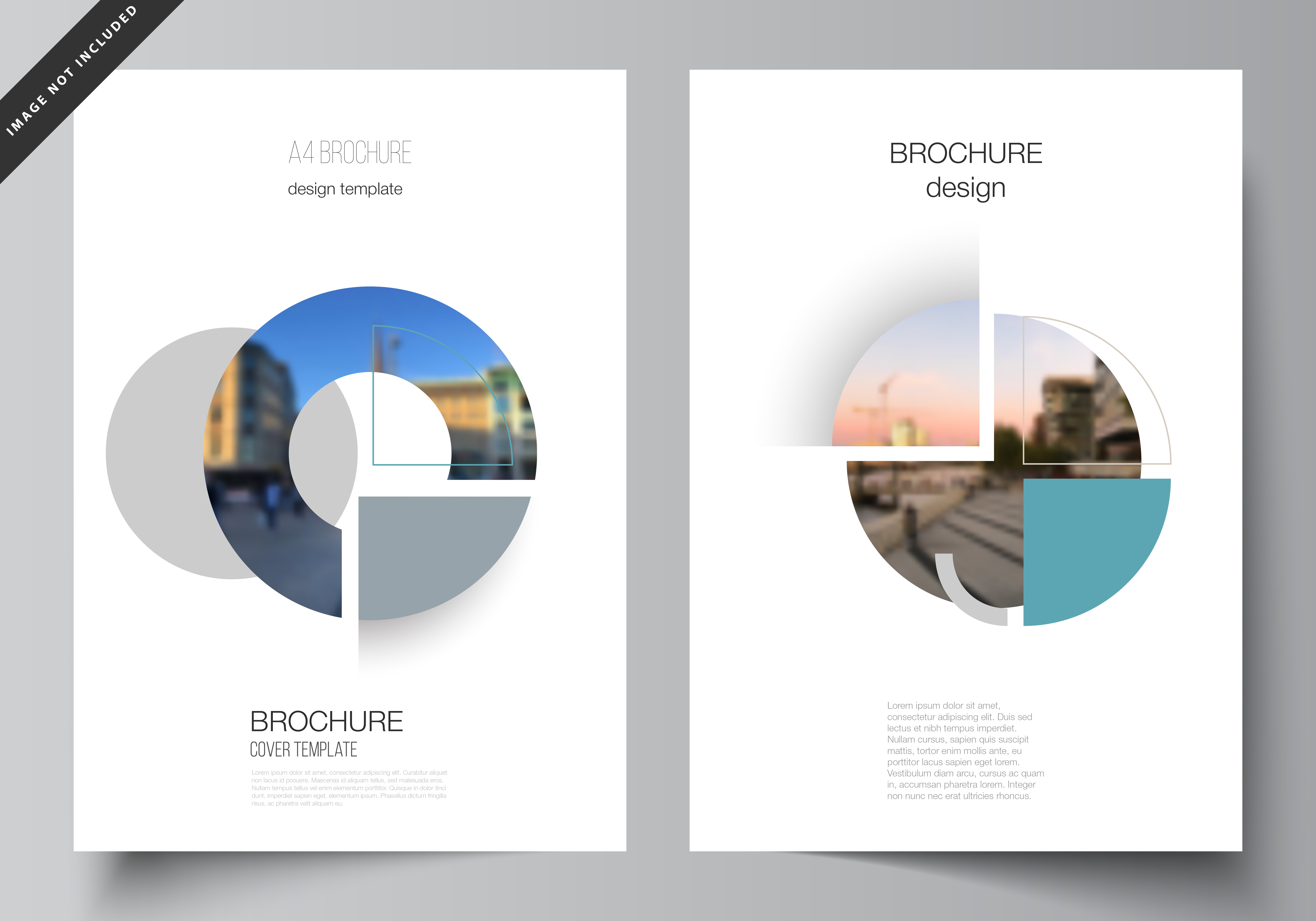 Download Free A4 Cover Mockups Design Templates V2 07 Graphic By Raevsky Lab for Cricut Explore, Silhouette and other cutting machines.