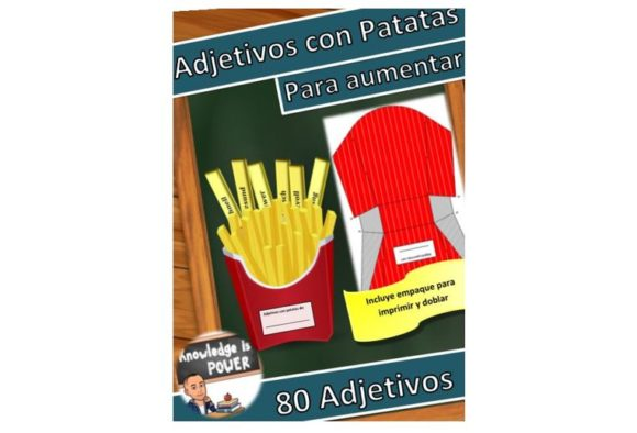 Adjetivos En Español, Adjectives Spanish Graphic Teaching Materials By alifarid