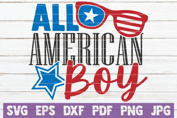 All American Boy Graphic Crafts By MintyMarshmallows