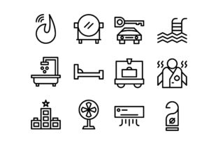 Bathroom Black and White Line Icon Graphic Icons By glyph.faisalovers