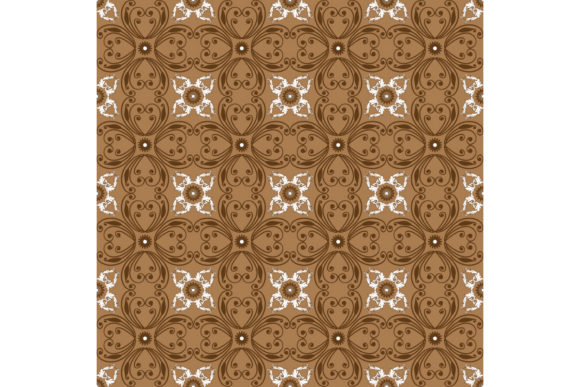 Download Free Beautiful Traditional Batik Pattern Graphic By Cityvector91 for Cricut Explore, Silhouette and other cutting machines.