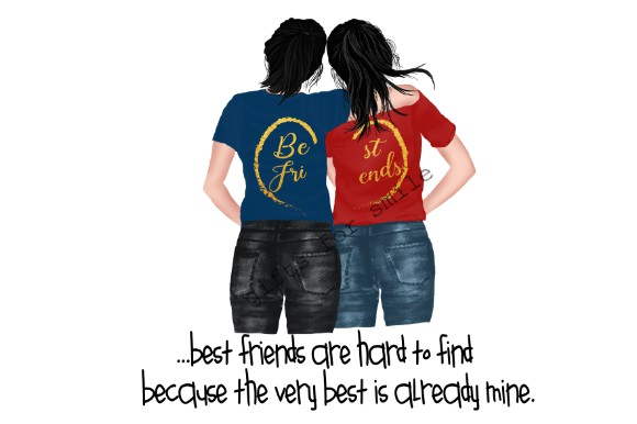 Download Free Best Friends Sublimation Template Graphic By Aarcee0027 for Cricut Explore, Silhouette and other cutting machines.