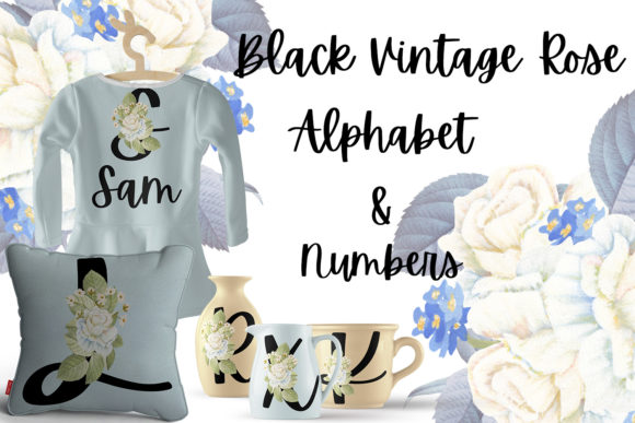 Download Free Vintage Rose Wreaths Graphic By Andreea Eremia Design Creative for Cricut Explore, Silhouette and other cutting machines.