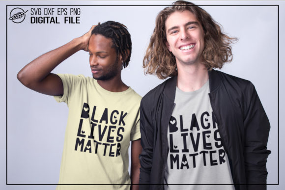 Download Free Black Lives Matter Cut File Quote Graphic By Boertiek Creative for Cricut Explore, Silhouette and other cutting machines.