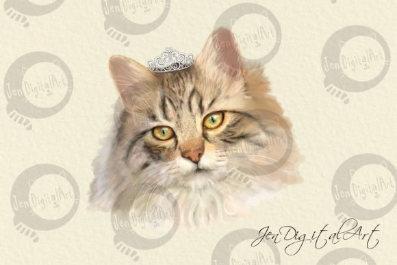 Cats | 20 Assorted Illustrations Graphic Illustrations By Jen Digital Art - Image 6