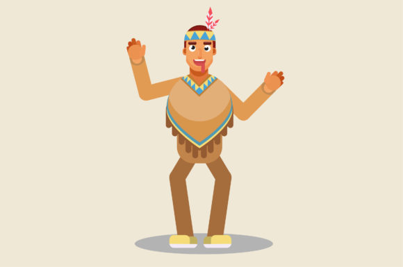 Download Free Character Of Funny Indian Graphic By Altumfatih Creative Fabrica for Cricut Explore, Silhouette and other cutting machines.