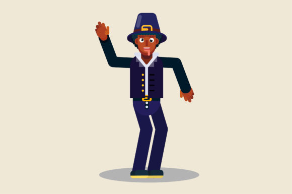 Download Free Characters Of Man Funny Dancing Graphic By Altumfatih Creative for Cricut Explore, Silhouette and other cutting machines.
