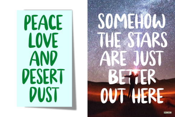 Download Free Cold Desert Font By Epiclinez Creative Fabrica for Cricut Explore, Silhouette and other cutting machines.