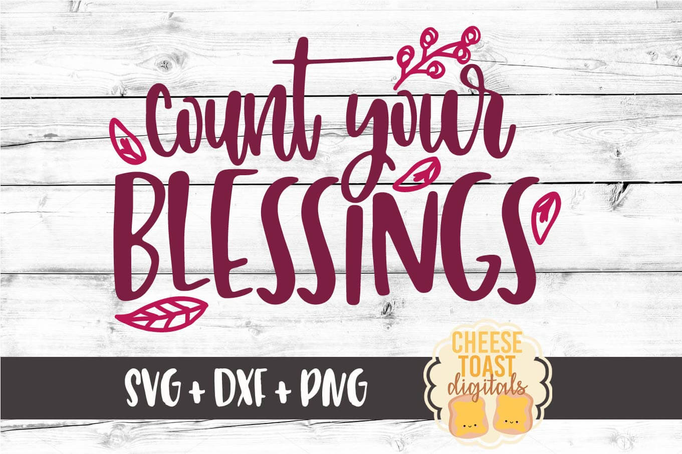 Download Free Count Your Blessings Graphic By Cheesetoastdigitals Creative for Cricut Explore, Silhouette and other cutting machines.