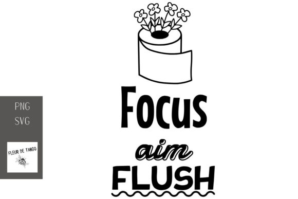 Print on Demand: Focus Aim Flush Graphic Print Templates By Fleur de Tango