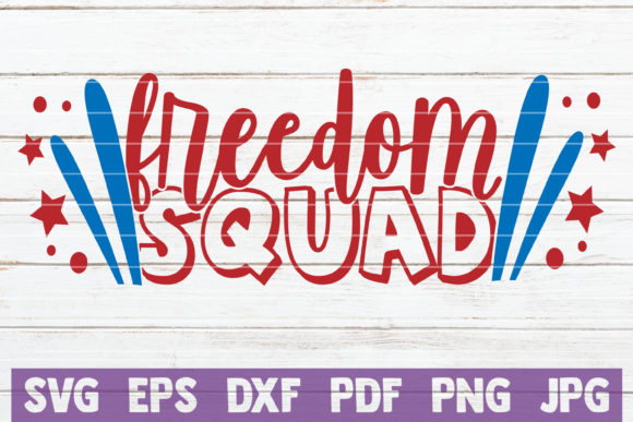 Freedom Squad Graphic By Mintymarshmallows Creative Fabrica