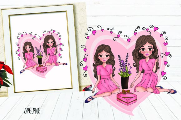 Print on Demand: Gift to Mom Graphic Illustrations By Suda Digital Art