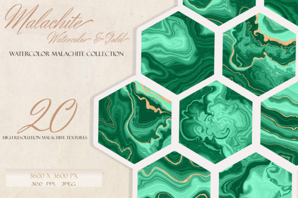 Download Free Green Malachite Geode Gold Backgrounds Graphic By Liquid for Cricut Explore, Silhouette and other cutting machines.
