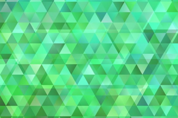 Green Triangle Background with Opacity Grafik Hintegründe von davidzydd