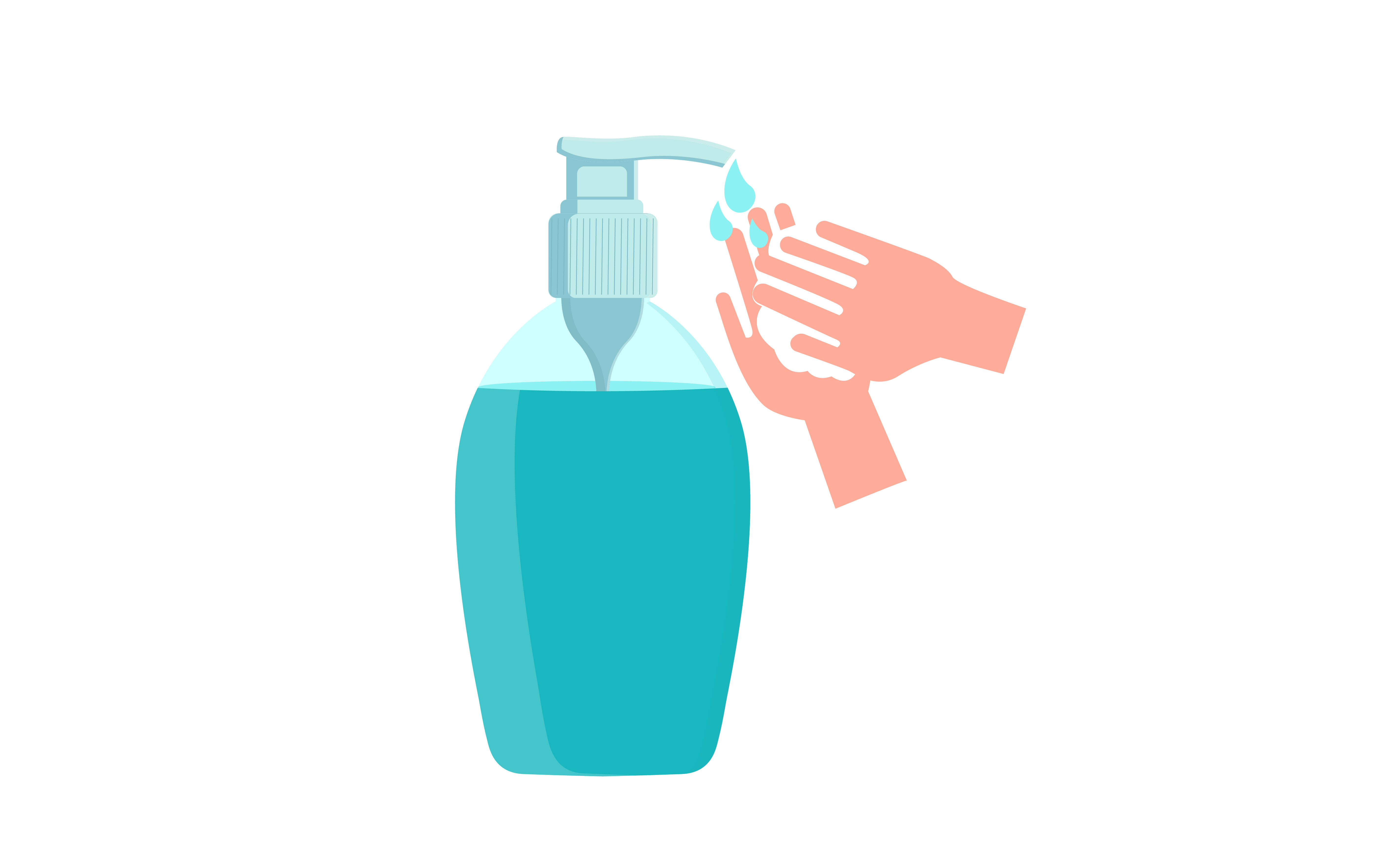 Download Free Hand Sanitizers Hygiene Product Graphic By Ngabeivector Creative Fabrica PSD Mockup Template