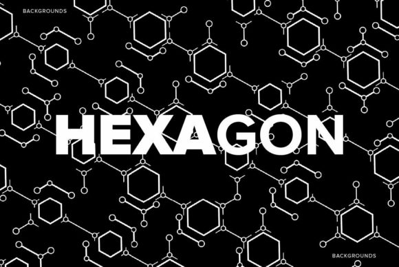 Hexagon Backgrounds Graphic Backgrounds By dotstudio