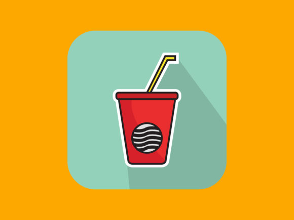 Download Free Icon Drink With Modern Style Graphic By Meandmydate Creative for Cricut Explore, Silhouette and other cutting machines.