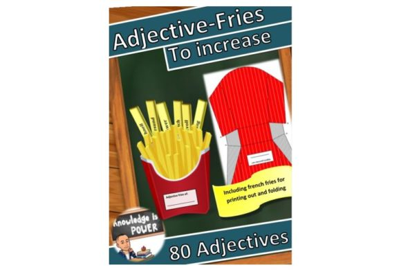 Learn Adjectives with Fun Graphic Teaching Materials By alifarid