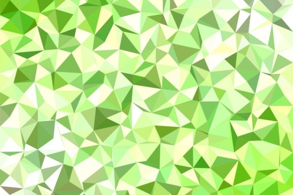 Light Green Triangle Polygon Background Graphic Backgrounds By davidzydd