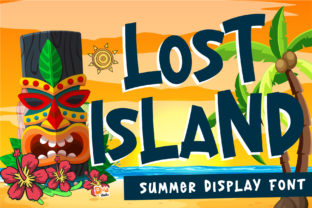 Print on Demand: Lost Island Display Font By dmletter31