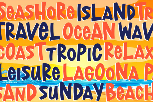 Download Free Lost Island Font By Dmletter31 Creative Fabrica for Cricut Explore, Silhouette and other cutting machines.
