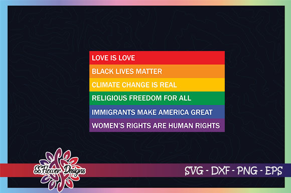 Download Free Love Is Love Black Lives Matter Graphic By Ssflower Creative for Cricut Explore, Silhouette and other cutting machines.