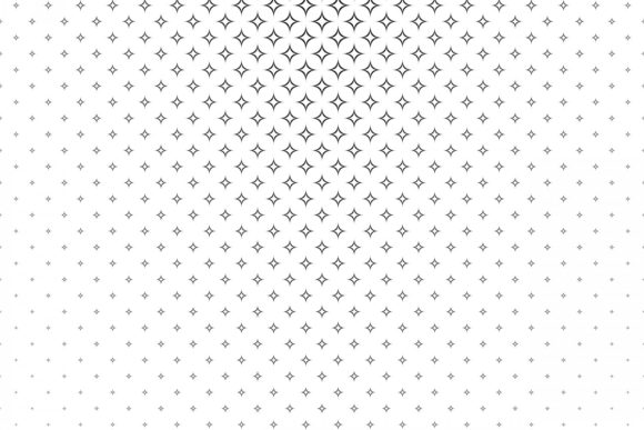 Monochrome Geometrical Pattern Graphic Patterns By davidzydd