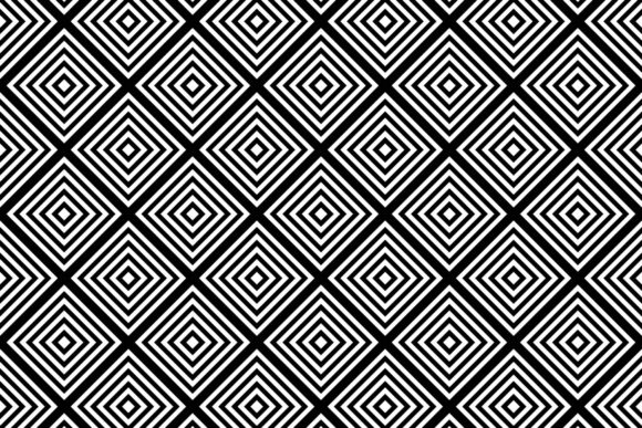 Download Free Monochrome Seamless Square Grid Pattern Graphic By Davidzydd for Cricut Explore, Silhouette and other cutting machines.