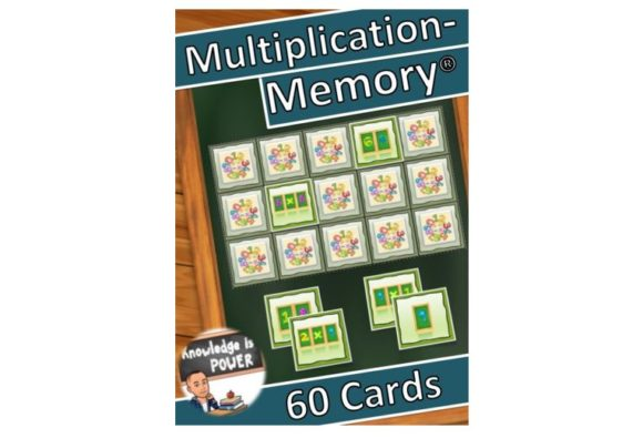 Multiplication Memory for Children Graphic Teaching Materials By alifarid