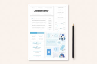 Print on Demand: One Page Logo Design Brief Graphic Print Templates By sargatal