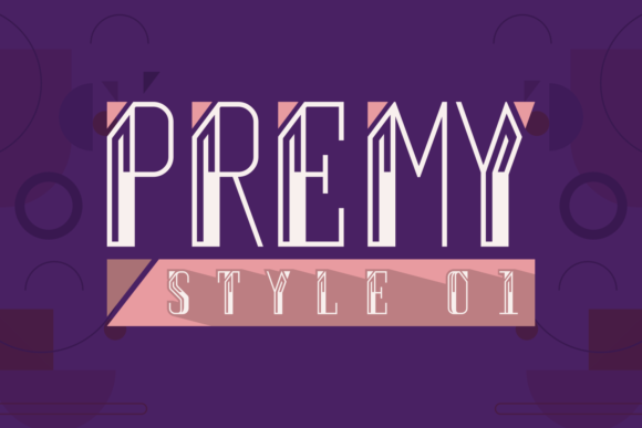 Print on Demand: Premy Style Display Font By Situjuh - Image 5
