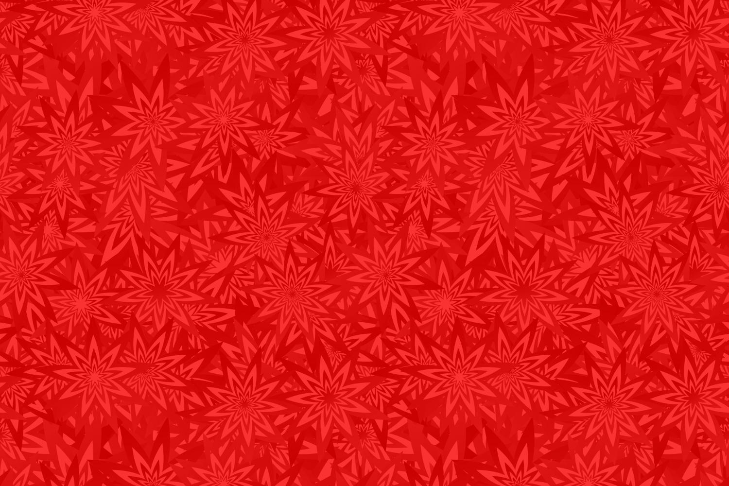 Download Free Red Seamless Floral Geometrical Pattern Graphic By Davidzydd for Cricut Explore, Silhouette and other cutting machines.