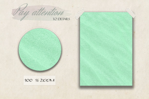Download Free Set Of Mint Teal Glitter Textures Graphic By Liquid Amethyst for Cricut Explore, Silhouette and other cutting machines.