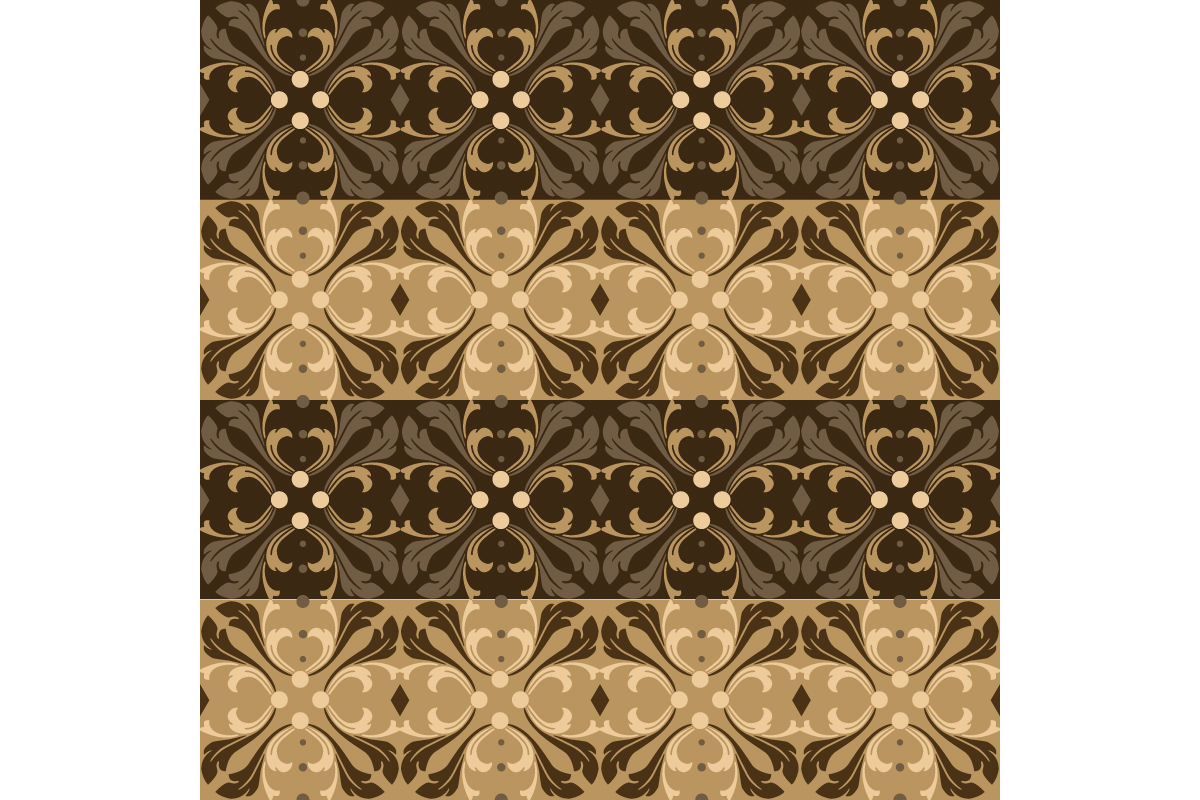 Download Free Simple Flower Pattern On Kawung Batik Graphic By Cityvector91 for Cricut Explore, Silhouette and other cutting machines.