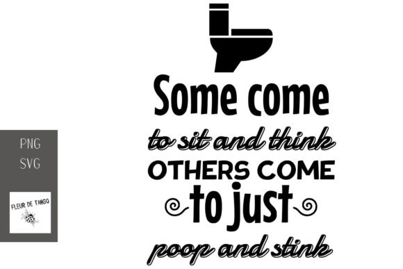 Print on Demand: Some Come to Sit and Think Others Come  Graphic Print Templates By Fleur de Tango