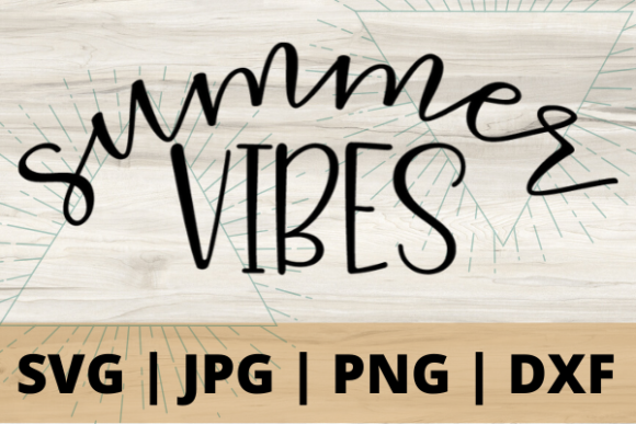 Print on Demand: Summer Vibes Graphic Crafts By Talia Smith