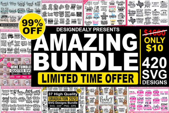 The Amazing Bundle Graphic By Designdealy Com Creative Fabrica