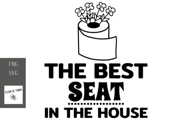 Print on Demand: The Best Seat in the House Graphic Print Templates By Fleur de Tango