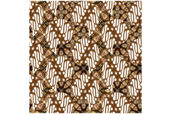 Traditional Javanese Batik Graphic Backgrounds By cityvector91